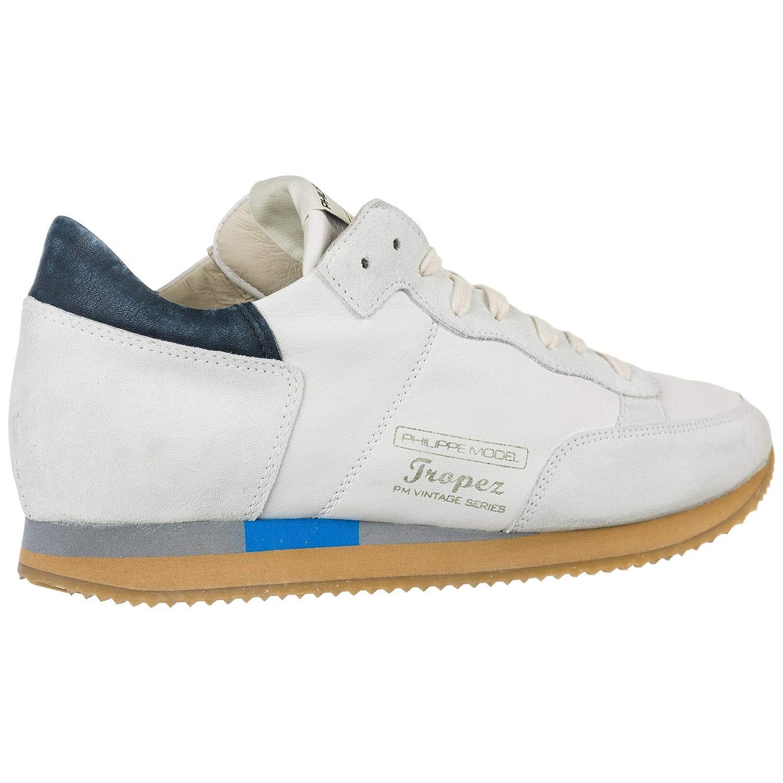 Philippe Model Sneakers Tropez Vintage Uomo West Blanc 45 EU
