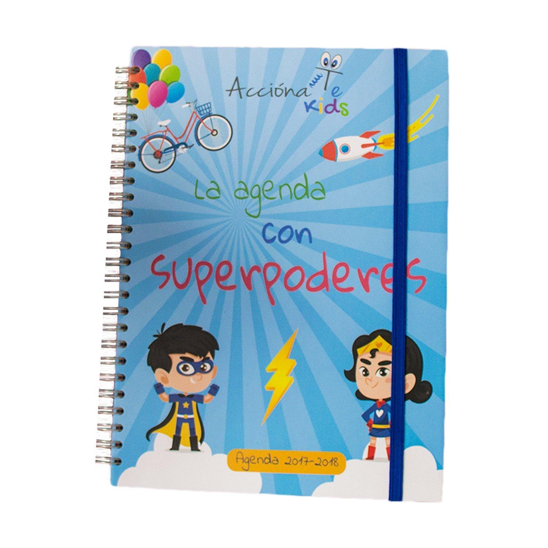 Agenda Escolar AcciónaTe Kids 2017-2018 semana vista