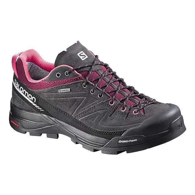 Salomon L37927000, Chaussures de Randonnée Femme, Gris