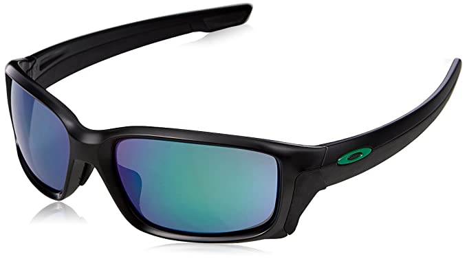 78f3cb69cbedf Oakley Lunettes Straightlink Black Jade Iridium  Amazon.fr ...