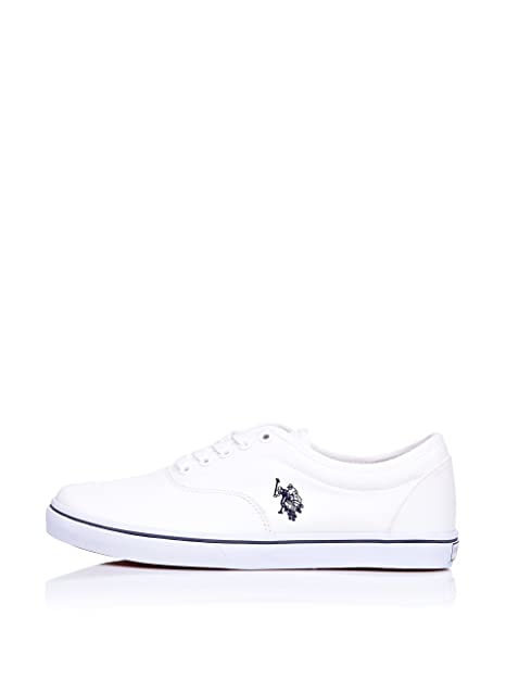 US Polo Assn. Zapatillas Blanco EU 38: Amazon.es: Zapatos y ...