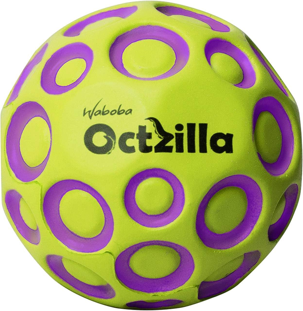 Waboba- Octzilla Bouncing Ball, Color morado/amarillo (AZ-323-G ...