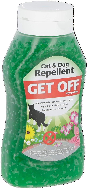 Cristales repelentes GET OFF MY GARDEN 460 g: Amazon.es: Productos para mascotas