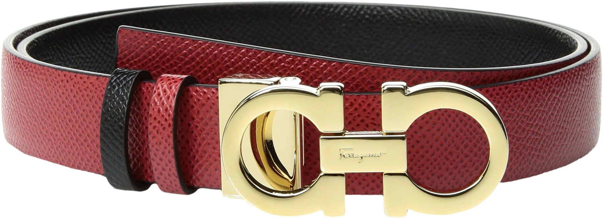 Salvatore Ferragamo Women's 23A565 Lipstick Belt by Salvatore Ferragamo