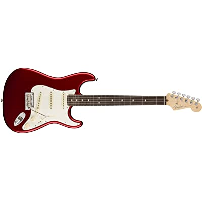 American Pro Stratocaster Candy Apple Red RW + Etui