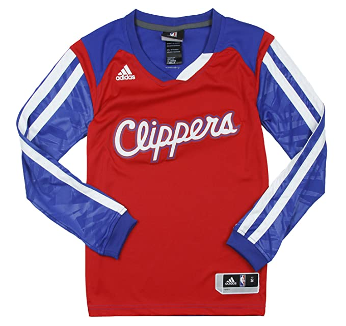 adidas Los Angeles Clippers NBA Grandes Efecto Camiseta de Manga Larga, Color Rojo - Rojo -: Amazon.es: Ropa y accesorios