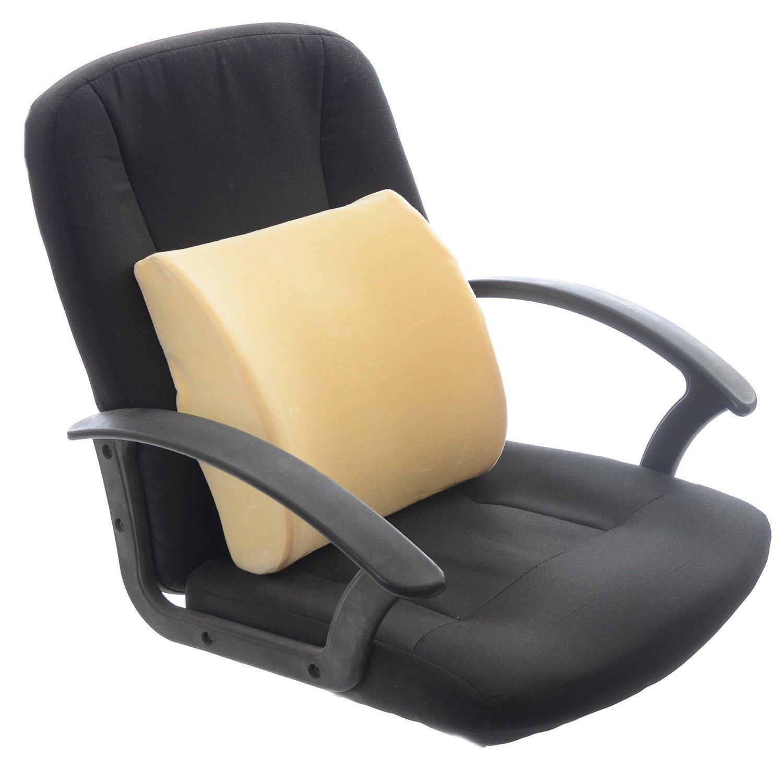Amazon Milliard Lower Back Memory Foam Lumbar Support Cushion