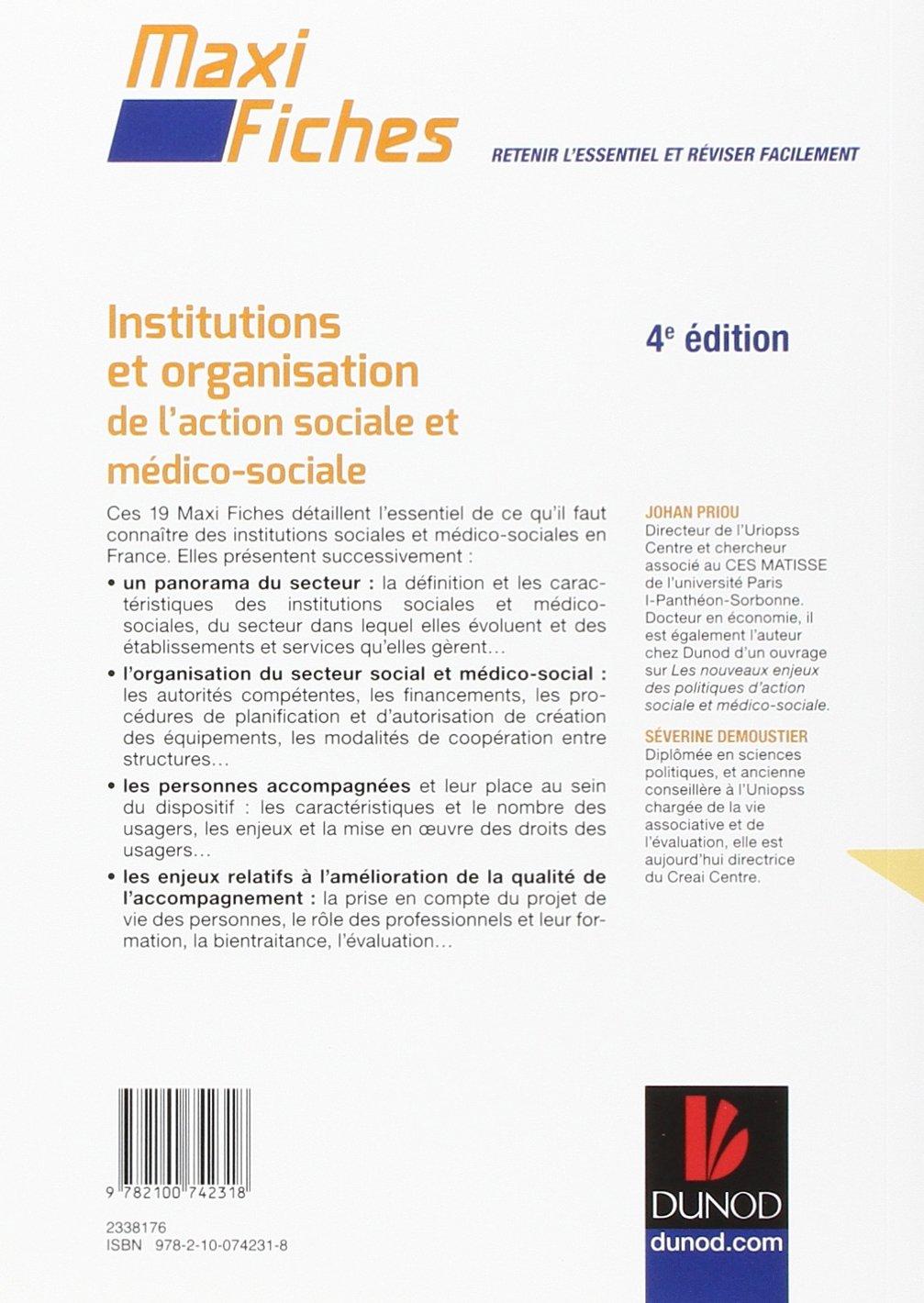Amazon Fr Maxi Fiches Institutions Et Organisation De L Action