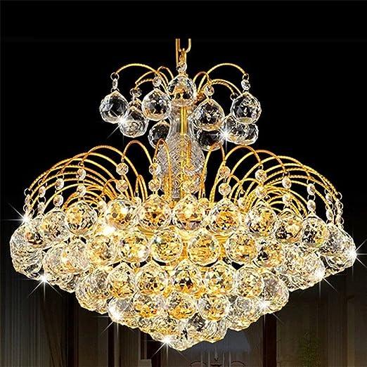 Outlet di fabbrica lampadari d\'oro LED lampade di cristallo ...