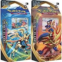 Pokémon POK81689 TCG: Sword & Shield 2 Rebel Clash Thema Deck (een willekeurig), Multi