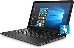 HP Touchscreen 15.6 inch HD Notebook , Intel Core i5-8250U Processor up to 3.40 GHz, 8GB DDR4, 2TB Hard Drive, Optical Drive, Webcam, Backlit Keyboard, Bluetooth, Windows 10(Renewed)