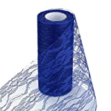 Baost Tulle Lace Roll Spool Floral Lace Roll