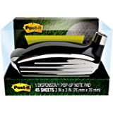 Post-it Pop-up Note Dispenser, Golf Themed for 3 in x 3 in Notes, 1 Dispenser and 1 Pad/Pack, 45 Sheets/Pad (GOLF-330)