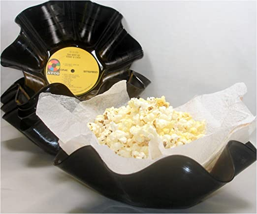 Recycled Vinyl Record Bowl Wholesale Qty 50