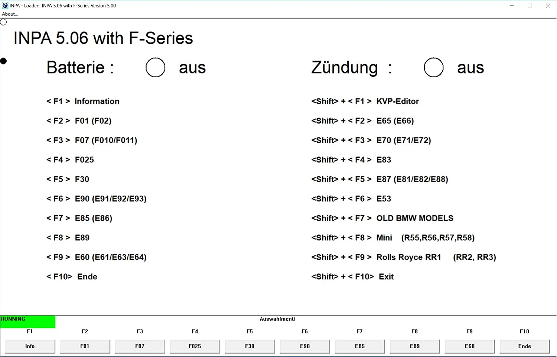 Mega-Diag Appareil de diagnostic pour BMW Inpa Rheingold NCS Expert Tool32 K+DCAN Interface /À partir de 1996 /à 2014