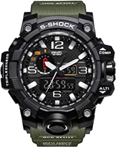 Smael Sport Watch For Men Analog-Digital Resin - WS-1545