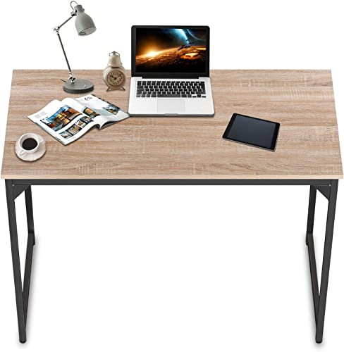 HCB Computer Desk 47 inch Home Office Desk Writing Study Table Modern Simple Style PC Desk
