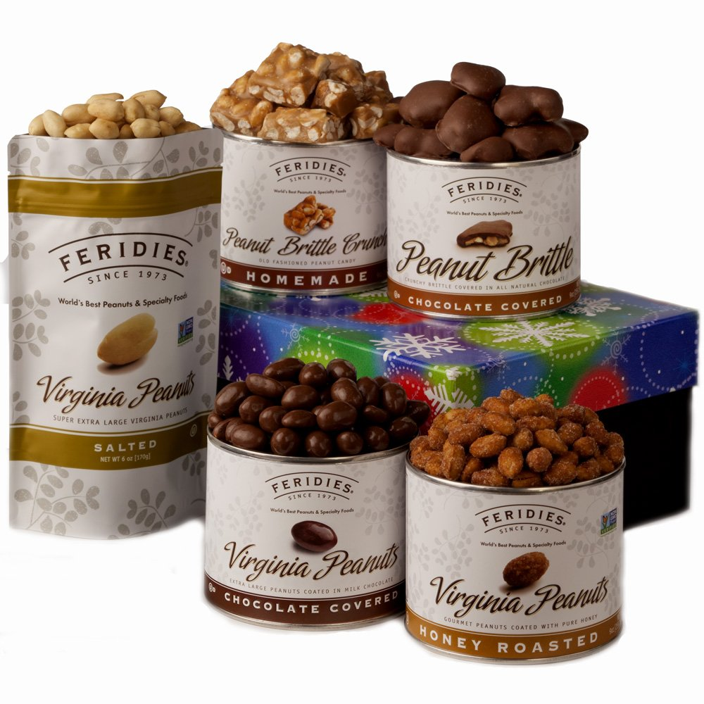 FERIDIES Virginia Peanut and Confection Sugar 'N Nuts Gift Assortment