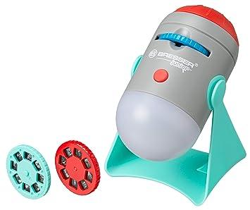 Bresser Junior Science - Proyector y luz Nocturna para niños con ...