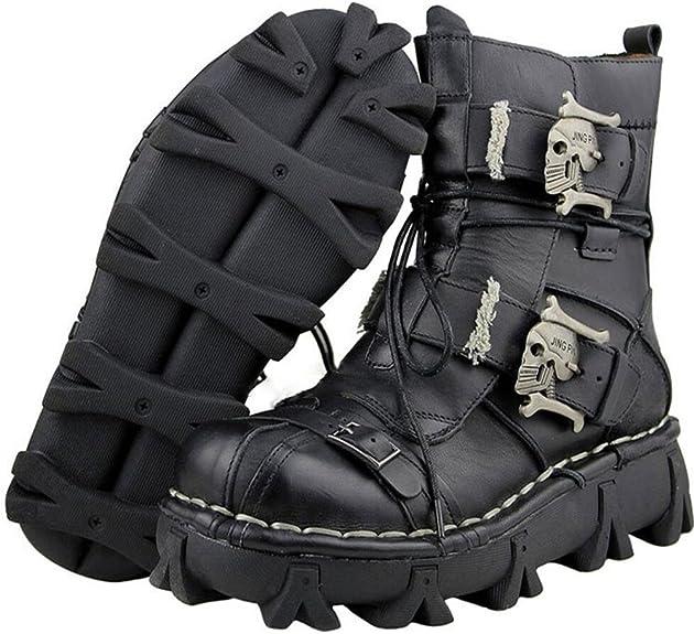 Gothic Punk Skull Boots
