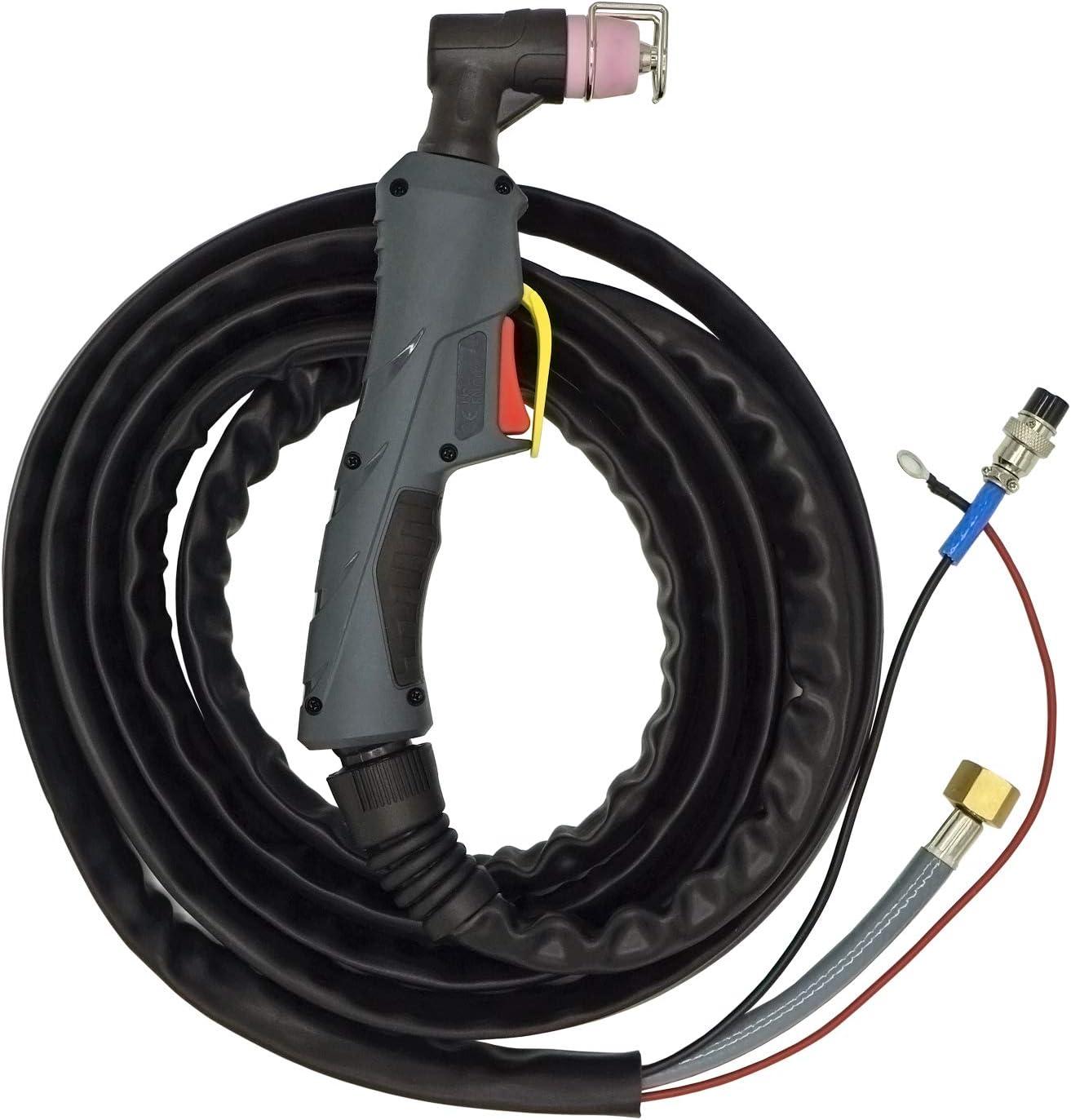 Rboot Cortador de plasma 50Amps 220V Arco piloto sin contacto Cortador de metal compacto AC 1//2 Limpio