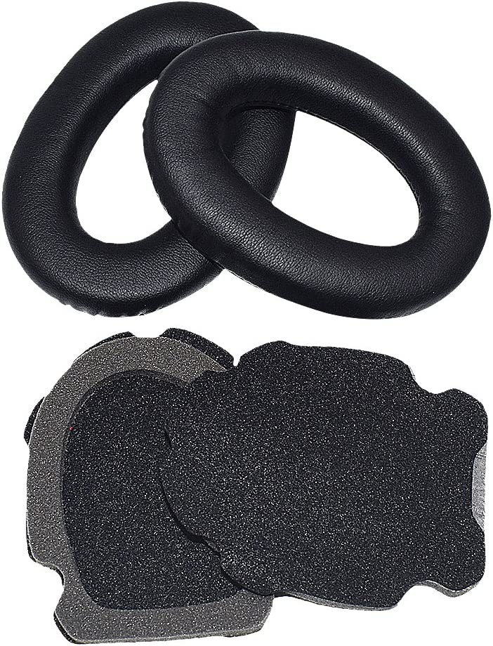 Sqrmekoko Memory Foam Ear Pads Cushions Cups Compatible with Bose Aviation Headset X A10 A20