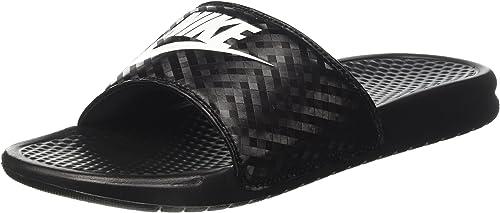 Nike Damen Benassi JDI Slide Sport & Outdoor Sandalen, grau, Varios