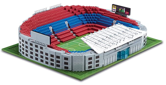 Amazon Character Building Sports Stars Nou Camp Stadium By