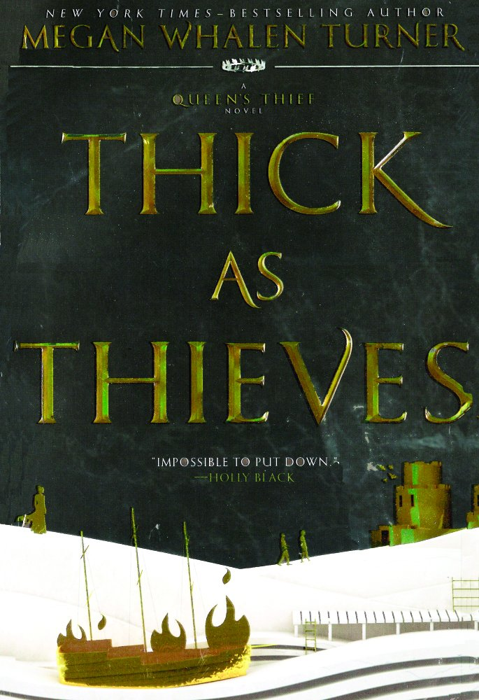 Download Thick As Thieves (Queen's Thief #5) (Turtleback School & Library Binding Edition) PDF