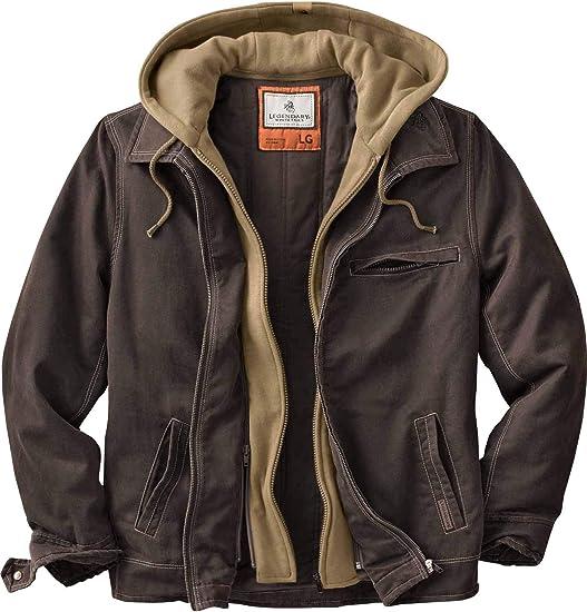 Amazon.com: Legendary Whitetails Men's Rugged Full Zip Dakota Jacket: Clothing