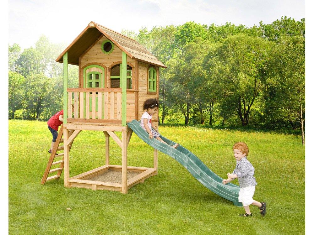 Axi Kinder Spielhaus Sarah mit Terrasse - Stelzenhaus hoch