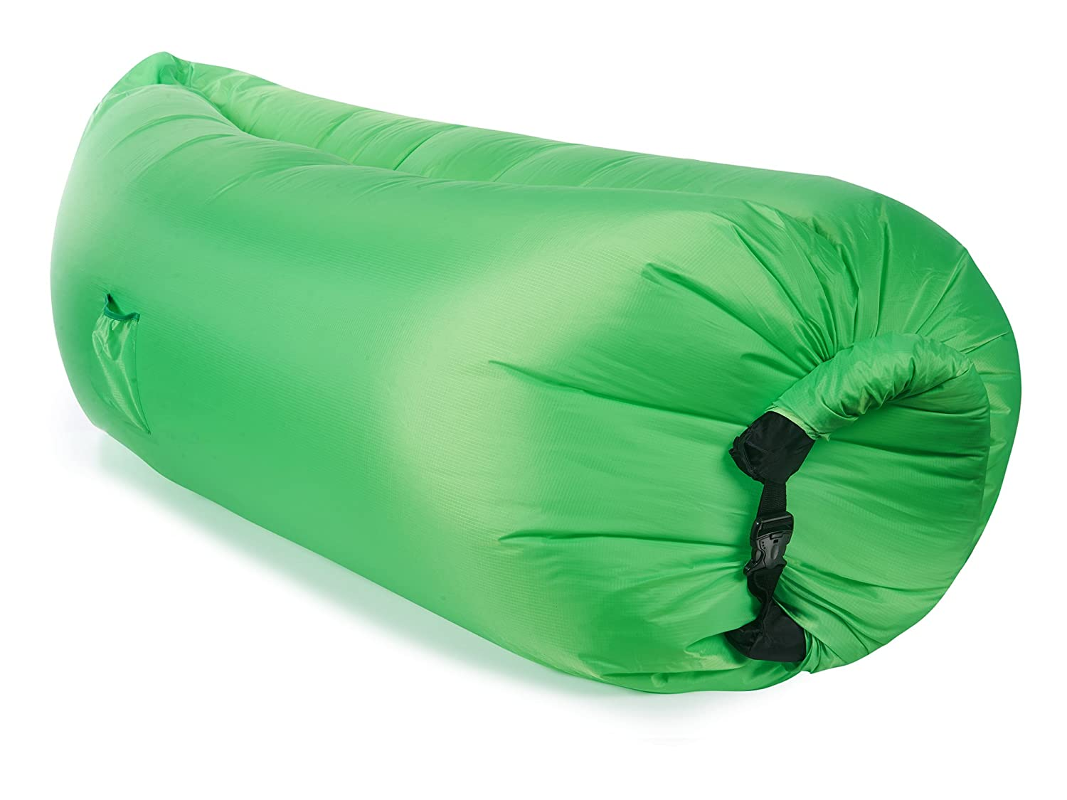 Amazon.com: Twisted Root Design Inflatable Hammock, Green: Sports U0026 Outdoors