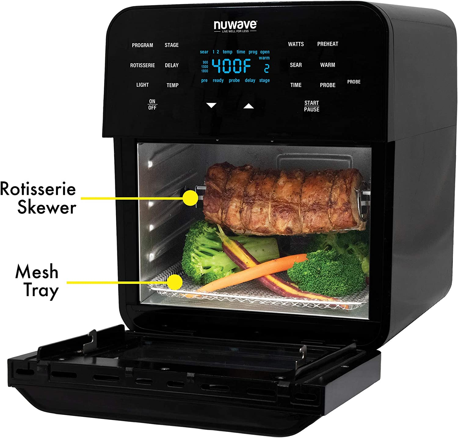 Nuwave - best air fryer for family of 4