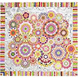 La Passacaglia Quilt - Millefiori Quilts by Willyne Hammerstein (Original 3/8'' Templates, Papers, and Book)