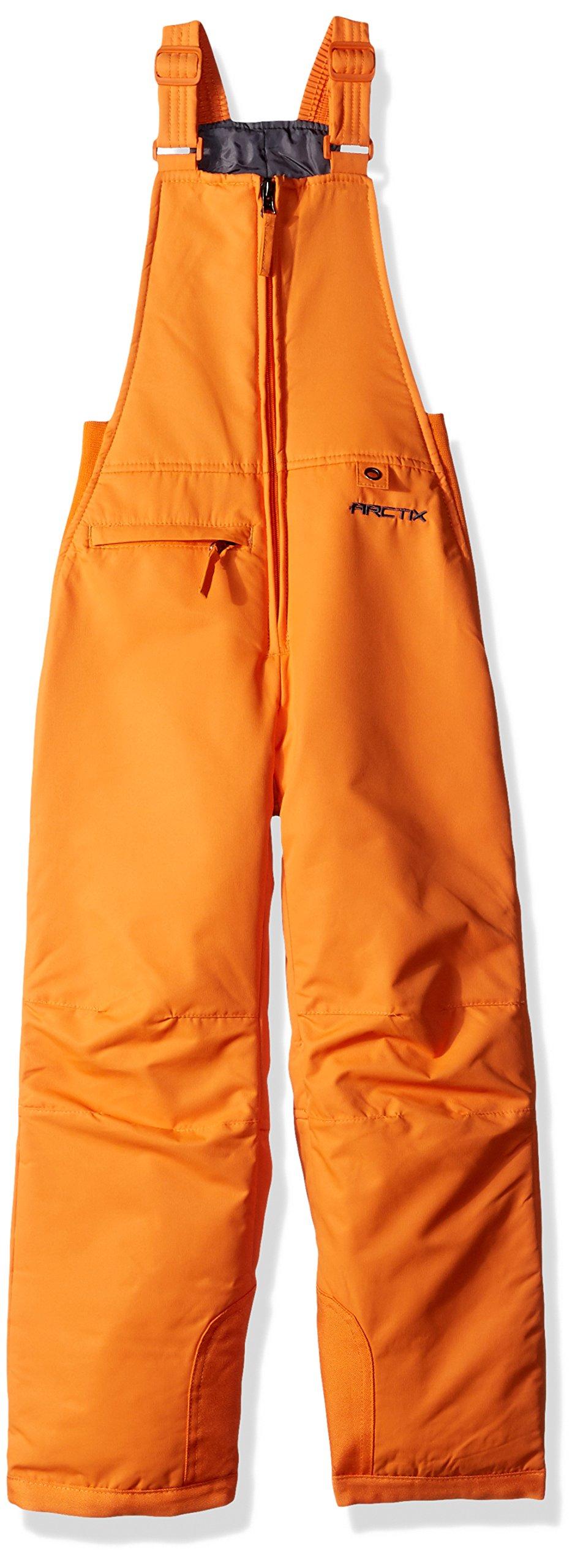 Arctix Youth Insulated Overall Snow Bib, Burnt Orange, Small