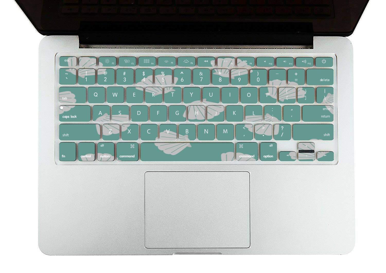 Hard Laptop Cases Summer Seaside Seashells Starfish Plastic Hard Shell Compatible Mac Air 11 Pro 13 15 Laptop MacBook Pro Protection for MacBook 2016-2019 Version
