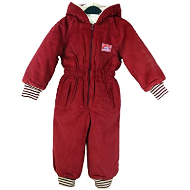 4486844d8 Kids Padded All-In-One Suit Snowsuit Childs Childrens Boys Girls 3 ...