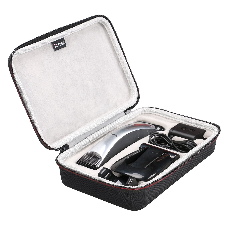 LTGEM for Philips Norelco Bodygroom Series 7100 BG2040 EVA Hard Protective Case Travel Carrying Storage Bag