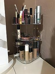Amazon Com Jerrybox 360 Degree Rotating Makeup Organizer
