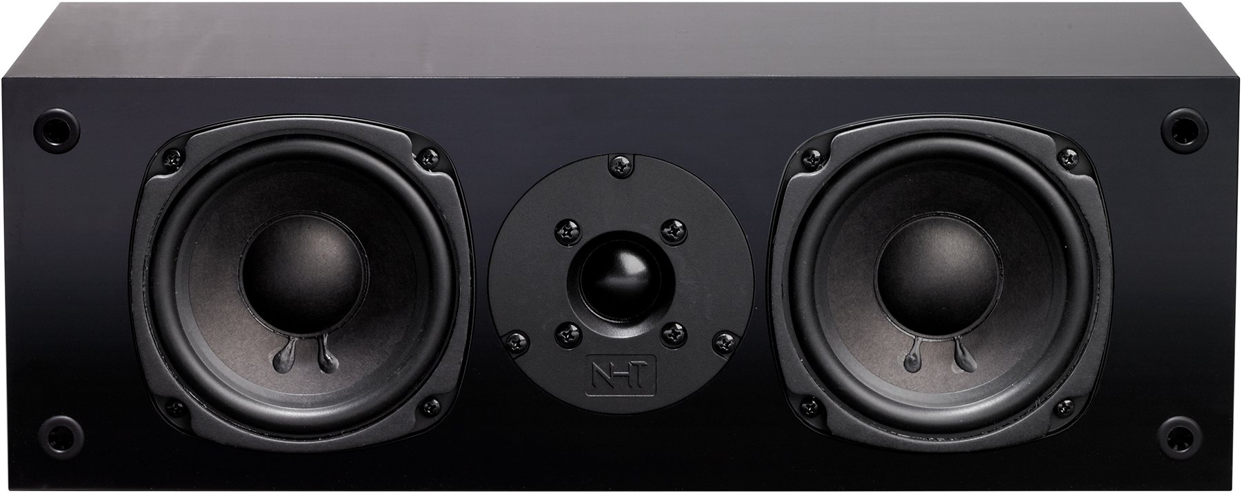 NHT Super Center 2.1 Center Channel Speaker, Black
