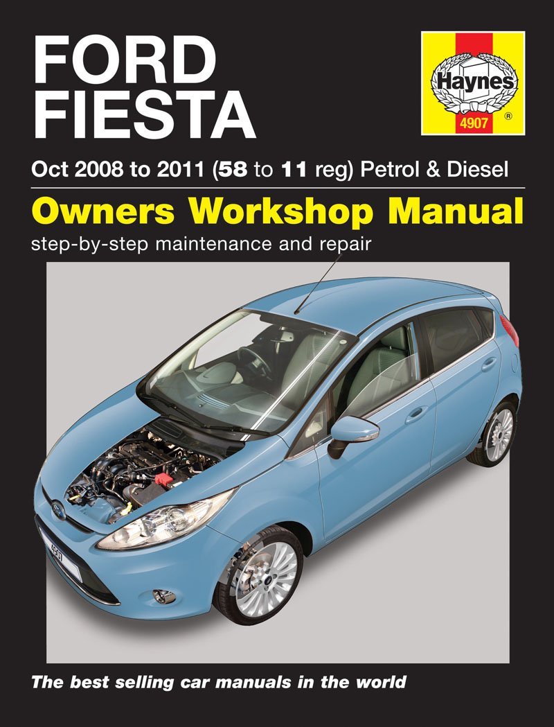 Ford Fiesta Repair Manual Haynes Manual Service Manual Workshop Manual   Amazon