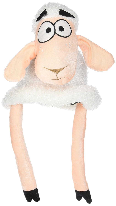 para ponerse en fiestas de disfraces infantiles Gorro tipo m/áscara de oveja en color marr/ón y blanco Petitebelle unisex