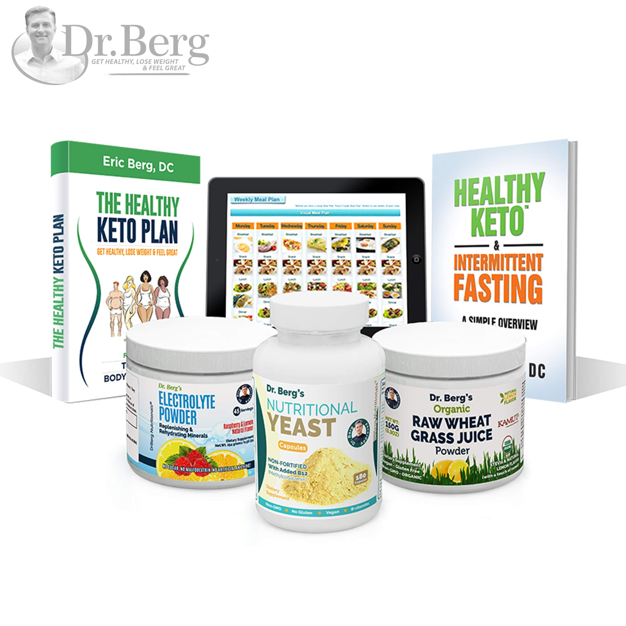 Dr. Berg's Keto Kit (with Bonus Meal Maker) by Dr. Berg Nutritionals