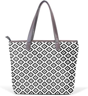 Ye Store Big Pink Rose Lady PU Leather Handbag Tote Bag Shoulder Bag Shopping Bag