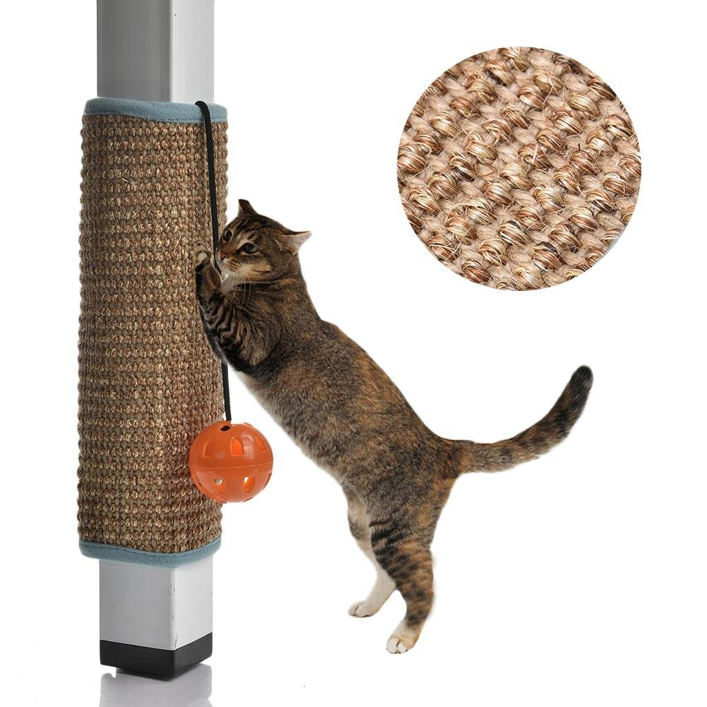 Leo565tom Griffoir Pour Chats Naturel Sisal Resistant Chat Planche A