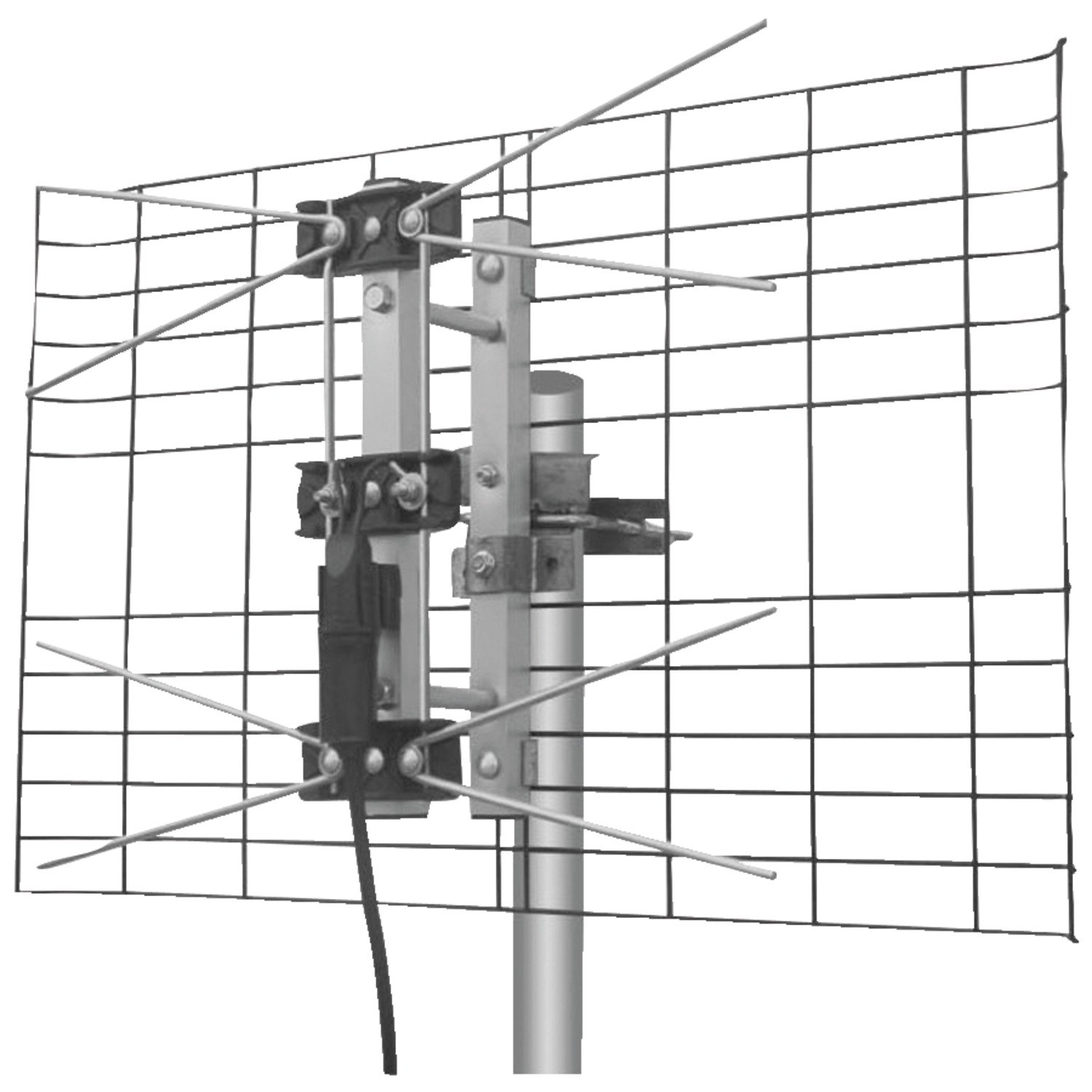Eagle Aspen EASDTV2BUHF Directv Approved 2-Bay UHF Outdoor Antenna by Eagle Aspen