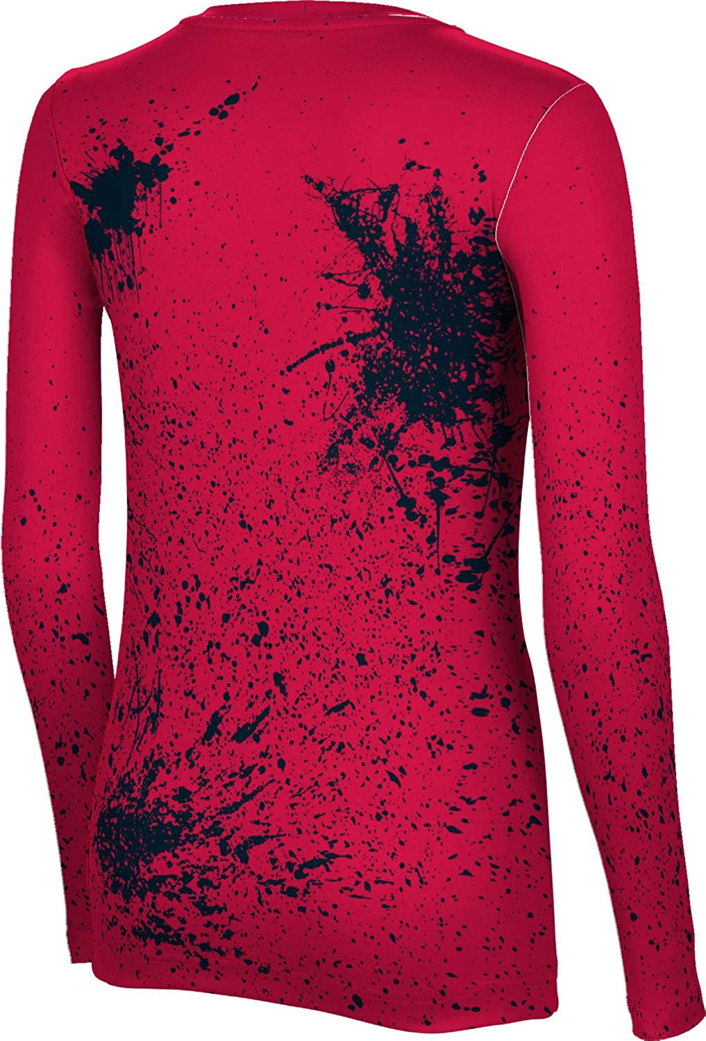 Splatter ProSphere St Johns University Womens Long Sleeve Tee