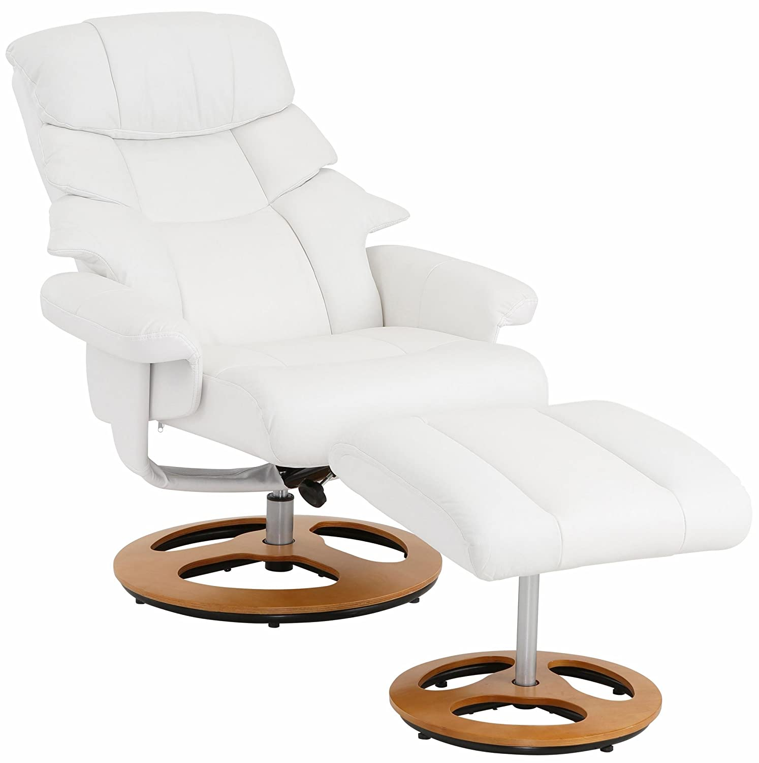 Magnificent Toulon Chair Ottoman Coloured White Mis 75 52X81 46X109 44 Short Links Chair Design For Home Short Linksinfo