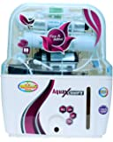 R.K. Aqua Fresh India Zx14Stage Advanced Mineral Technology RO UV Uf Minerals TDS Adjuster Ro Water Purifier - Off White