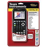 Texas Instruments TI-84 Plus CE Graphing Calculator, Black